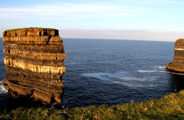 Sea-stack off Downpatrick Head