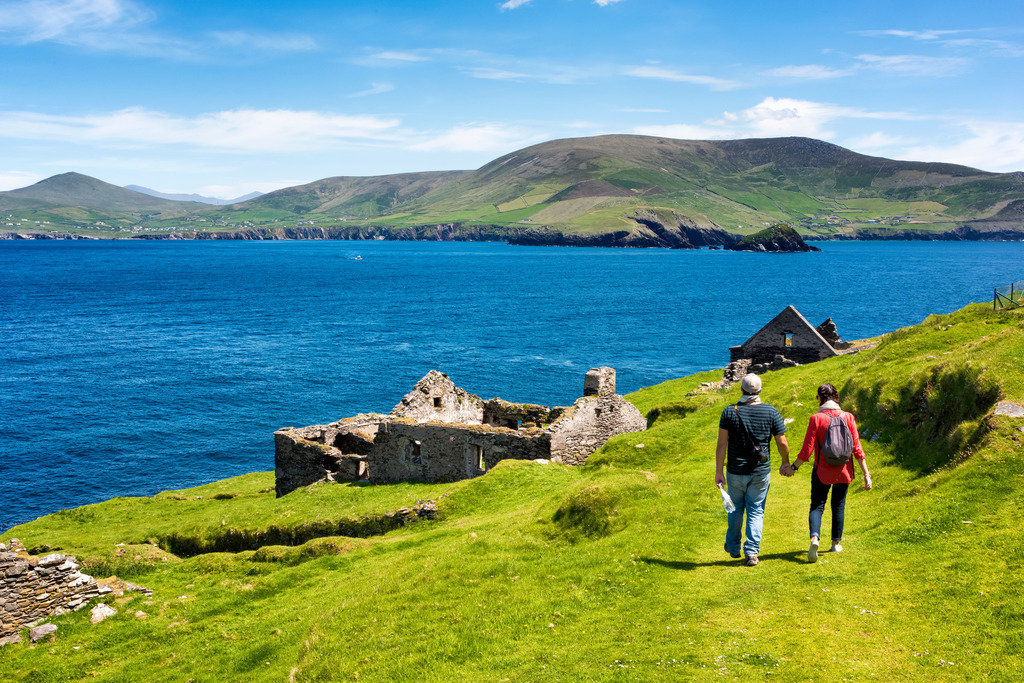 Great Blasket Island. Dingle Ireland