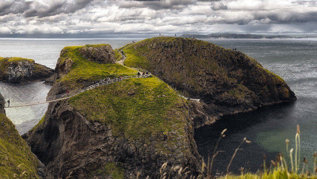 Carrick island, Carrick-a-Rede rope bridge
