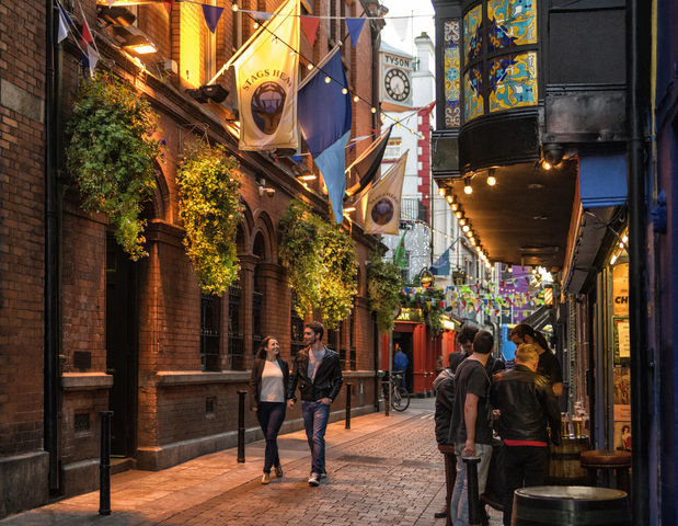 Temple Bar. Dublin