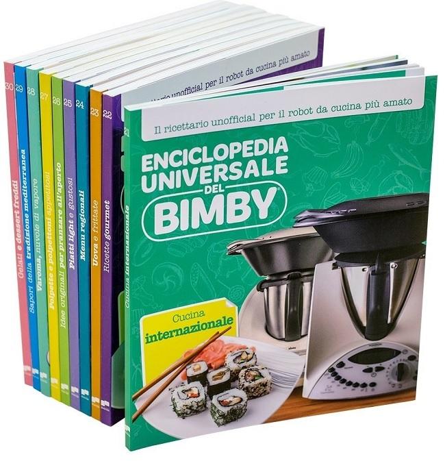 Enciclopedia Universale del Bimby® (volumi 21-30) + IL GRANDE LIBRO ...