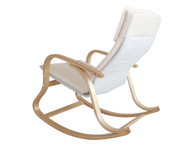 Phenomenal Flotti Kota Rocking Chair Color Beige With Light Stain Inzonedesignstudio Interior Chair Design Inzonedesignstudiocom