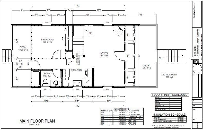 free cabin plans SDS Plans