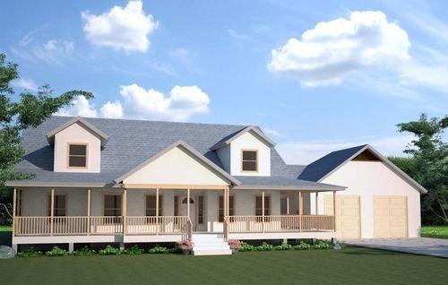 Plans and blueprints sds plans for Modified cape cod house plans