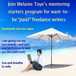 Mentoring Program for want-to-be *paid* freelance writers