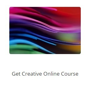 Book yourself into Melanie Toye's Get Creative Online Course: