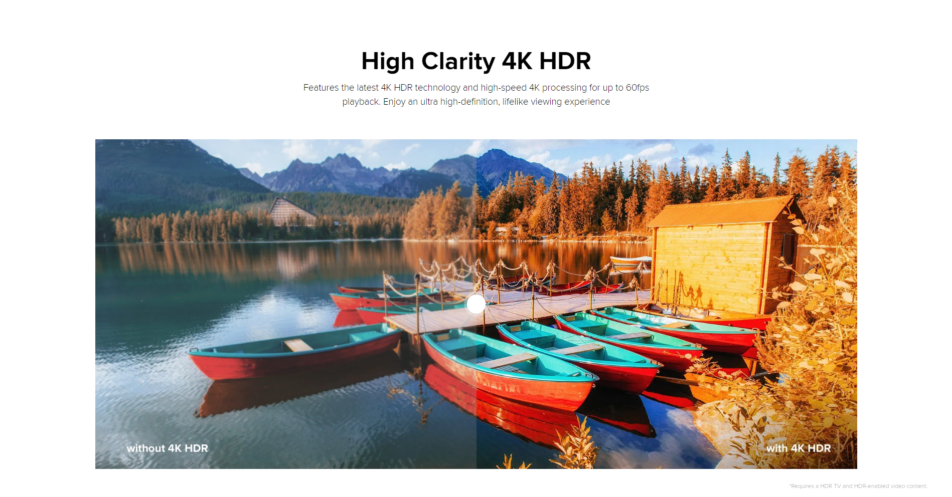 Xiaomi Mi S - High Clarity 4K HDR