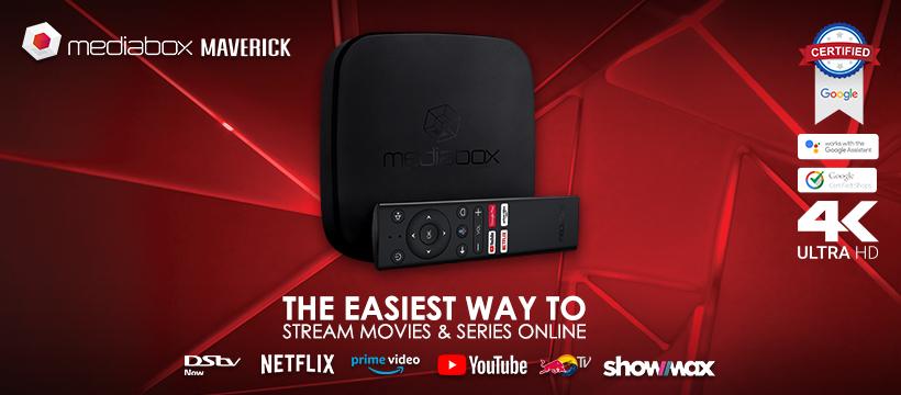 Mediabox MBX4K Maverick