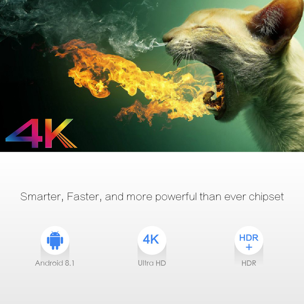 X96 Max Android 8.1 4GB Ram / 32GB Rom Android TV Box