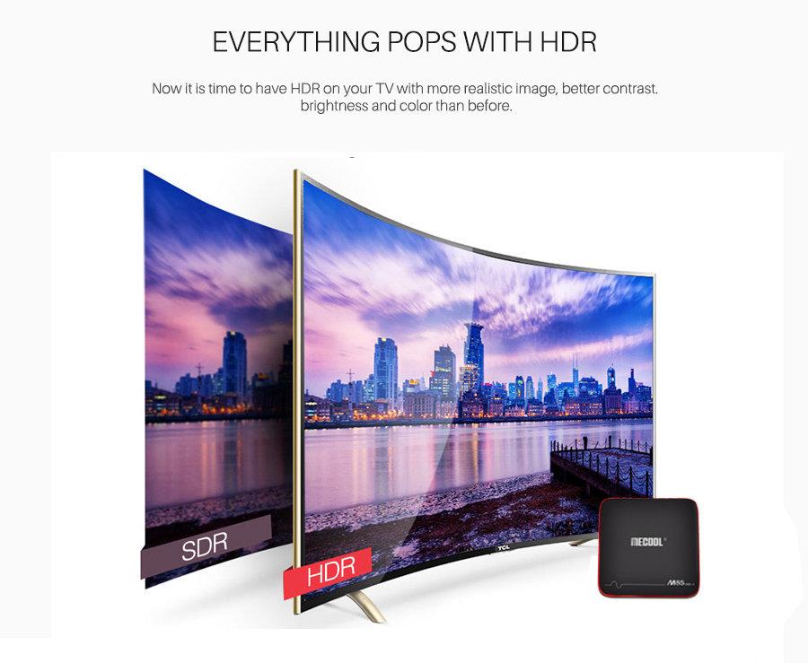 MECOOL M8S Pro W S905W Smart TV Box - Android 7 1 2GB/16GB - GeeWiz