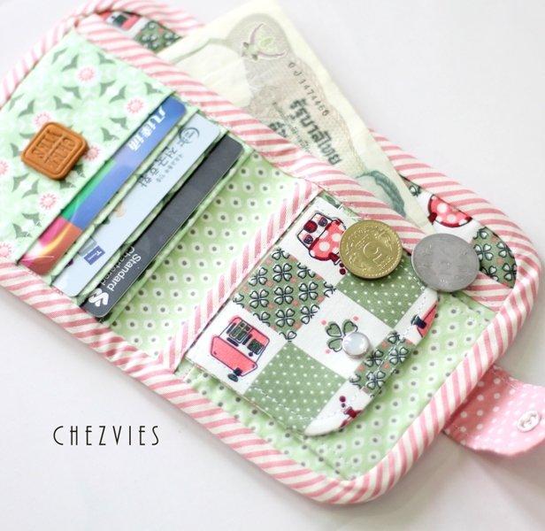 Green Bifold Wallet