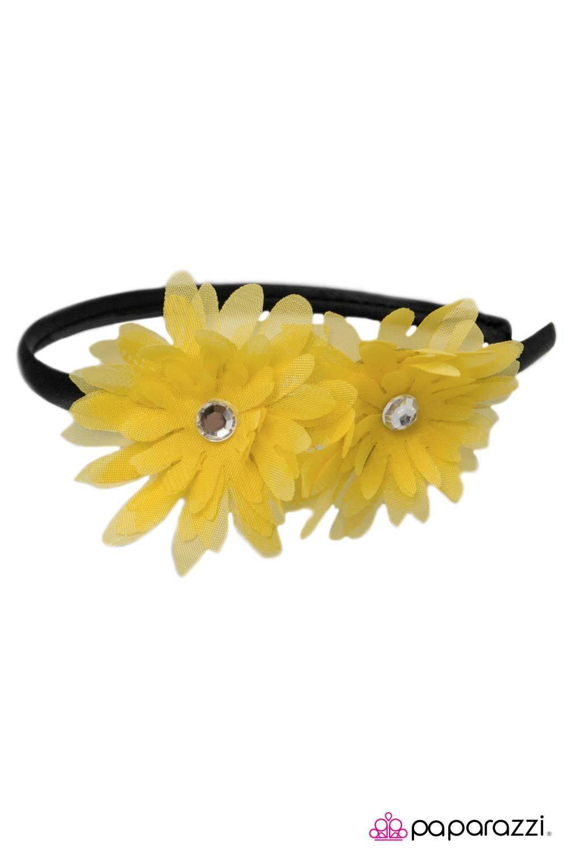 Johnny And June Yellow Headband Wicked Wonders Vip Bling
