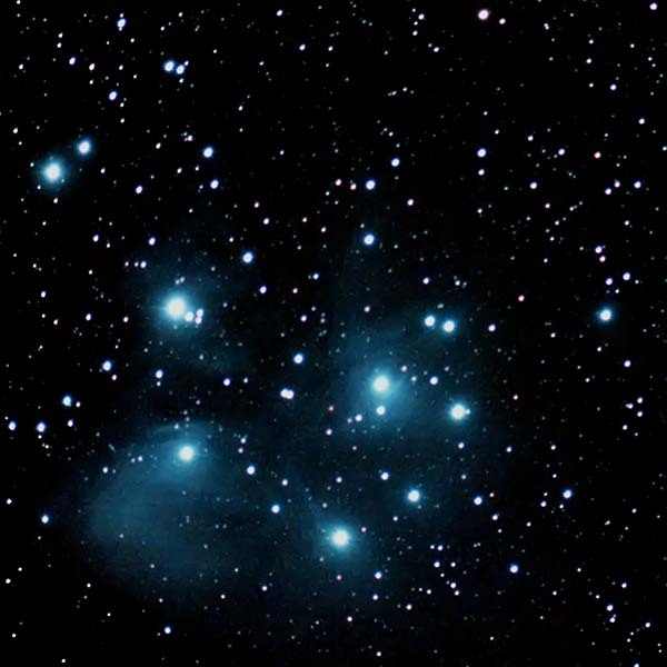 Pleiades Seven Sisters Maia, Electra, Taygete, Alcyone, Celaeno, Sterope, Merope
