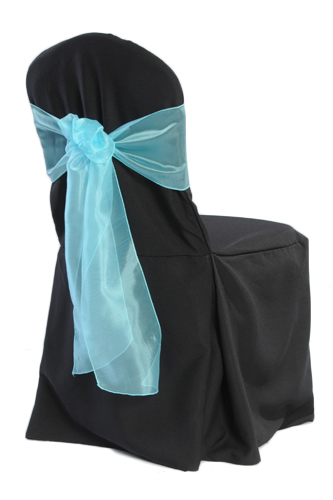 Black Banquet 2/Pleat Chair Cover