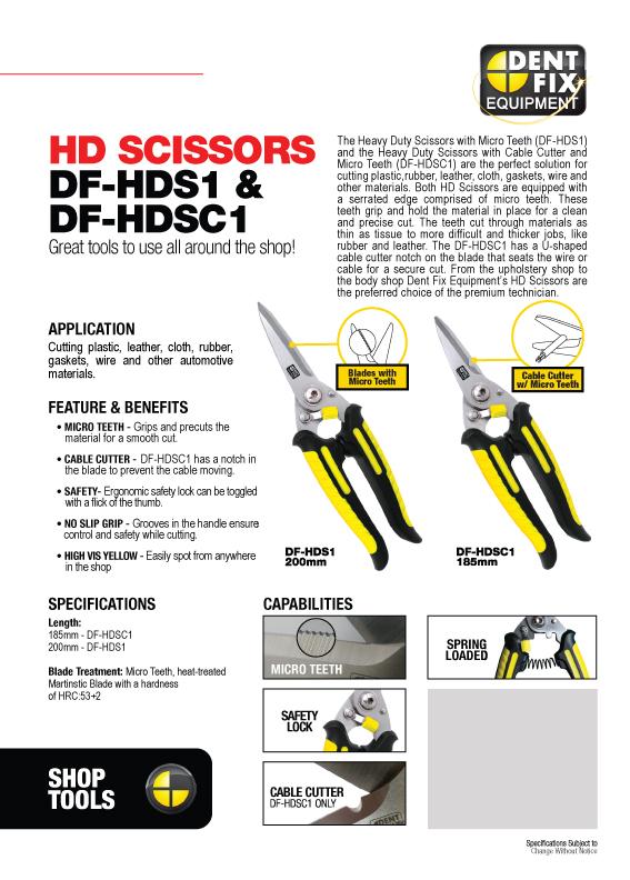 HD Scissors Flyer