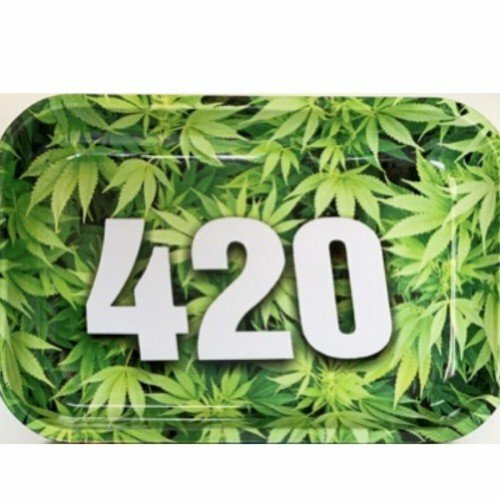 Quality Large Metal Weed Rolling Tray