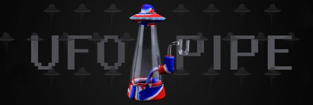 UFO Silicone Bubbler Smoking Water Pipe | moodTime 2