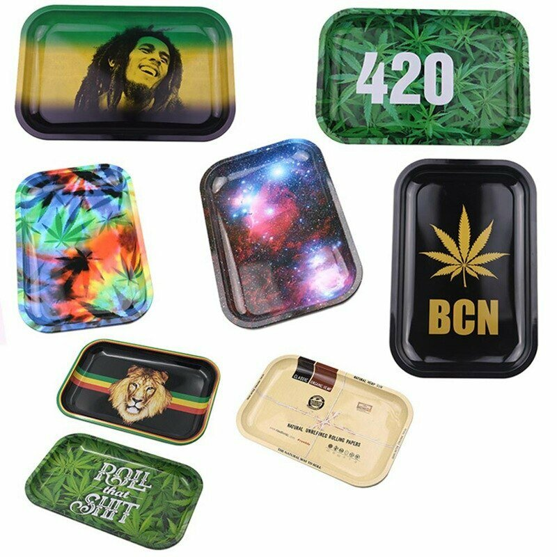 Quality Small Metal Weed Rolling Tray