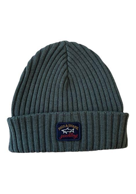 berretto in lana a coste Paul&Shark | Cappello | C0P1051761