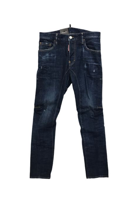 TIDY BIKER JEAN Dsquared2 | Pantalone | S74LB0760-S30342470