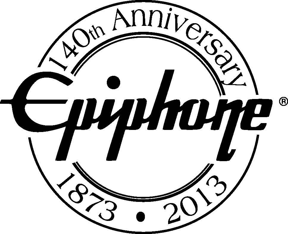 Epiphone 140th anniversary logo