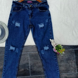 Jeans boy friend one size for women
