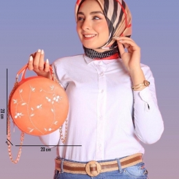 Women classic Round bag