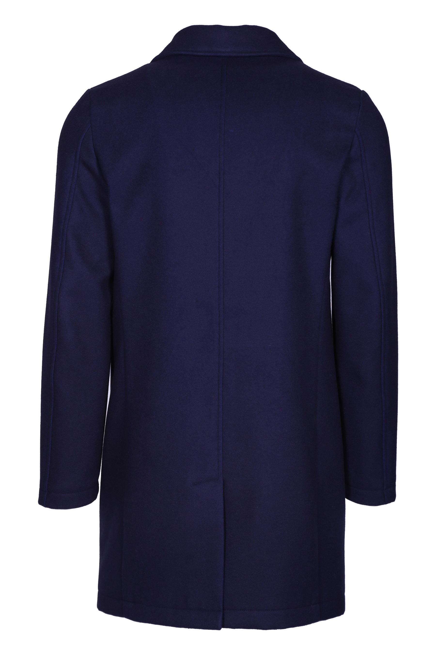 Cappotto tre bottoni DANIELE ALESSANDRINI | Cappotti | T444M511390623