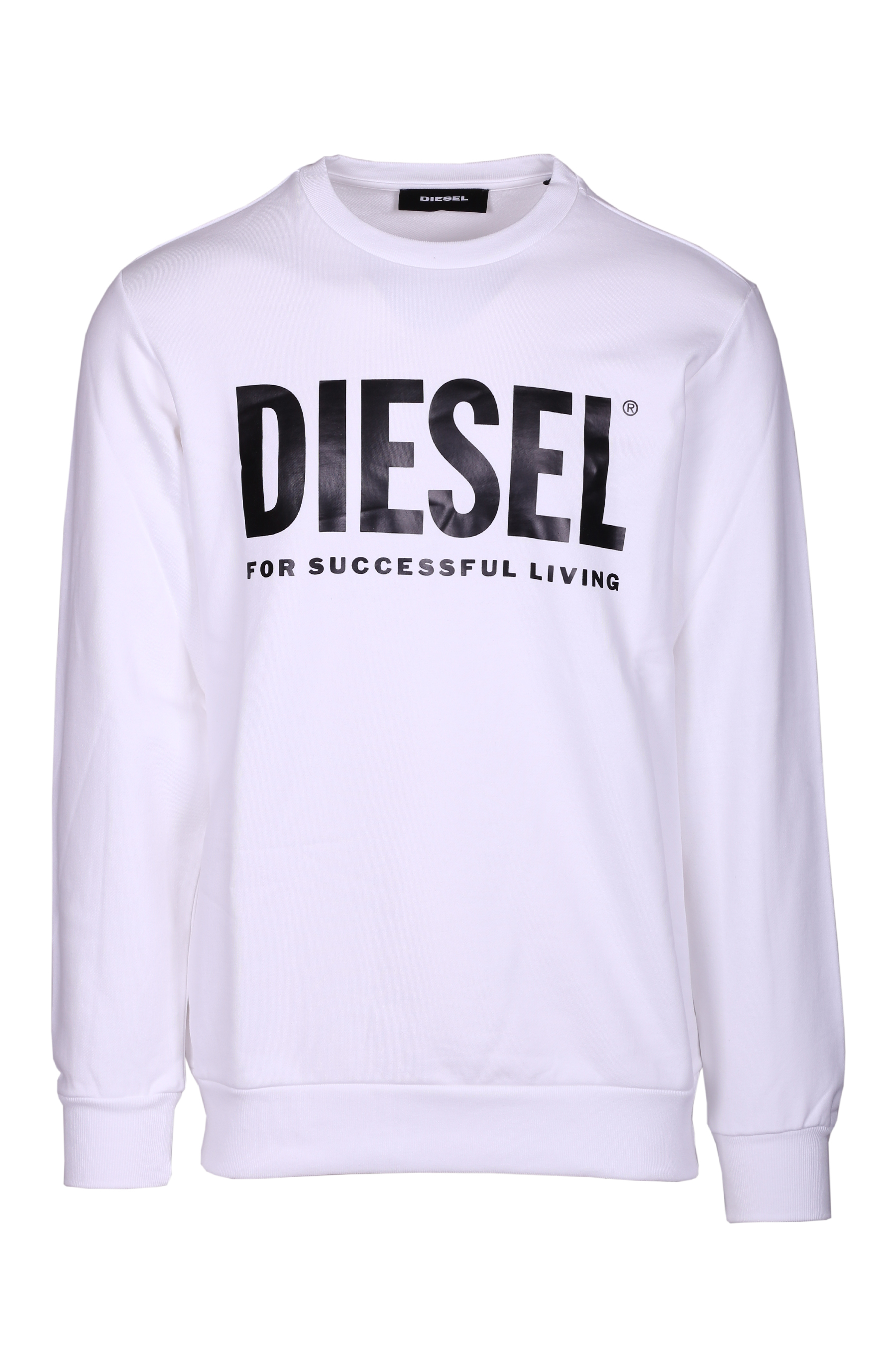 Cotton sweatshirt with logo s-gir-division DIESEL | Sweatshirt | 00SWFH0BAWT100