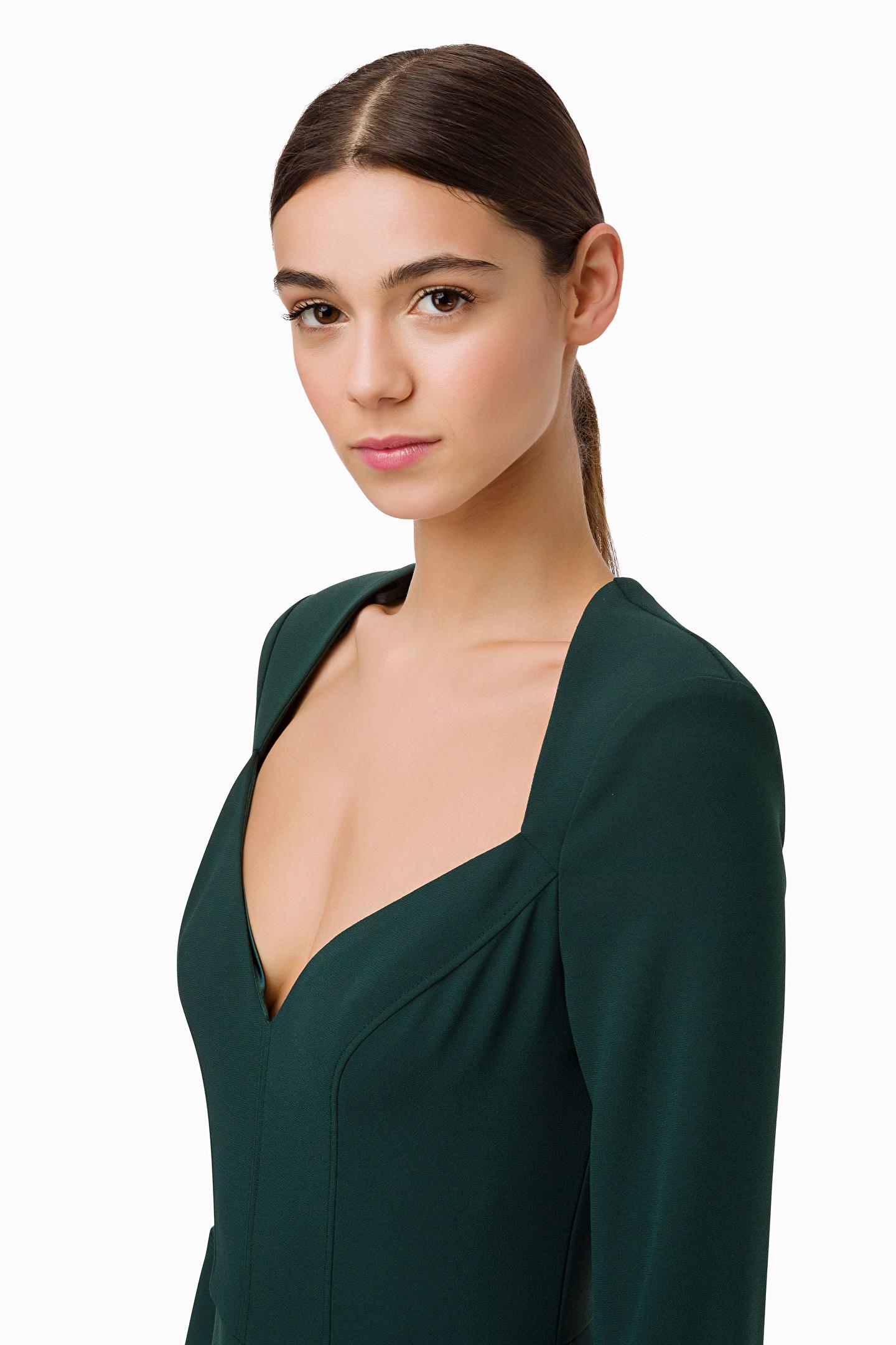 Mini dress with ribbons ELISABETTA FRANCHI |  | AB94996E2568