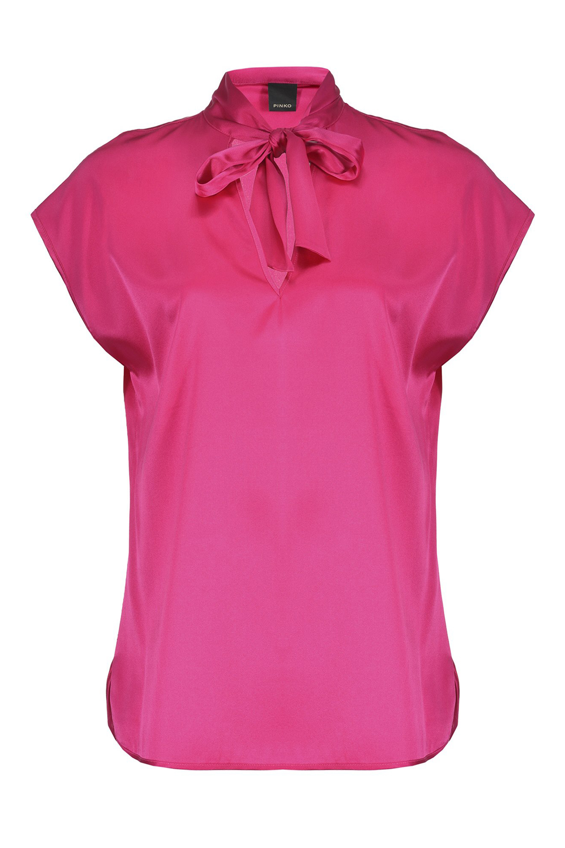 BLUSA IN SATIN STRETCH PINKO | Bluse | 1G149NY5NSYYF