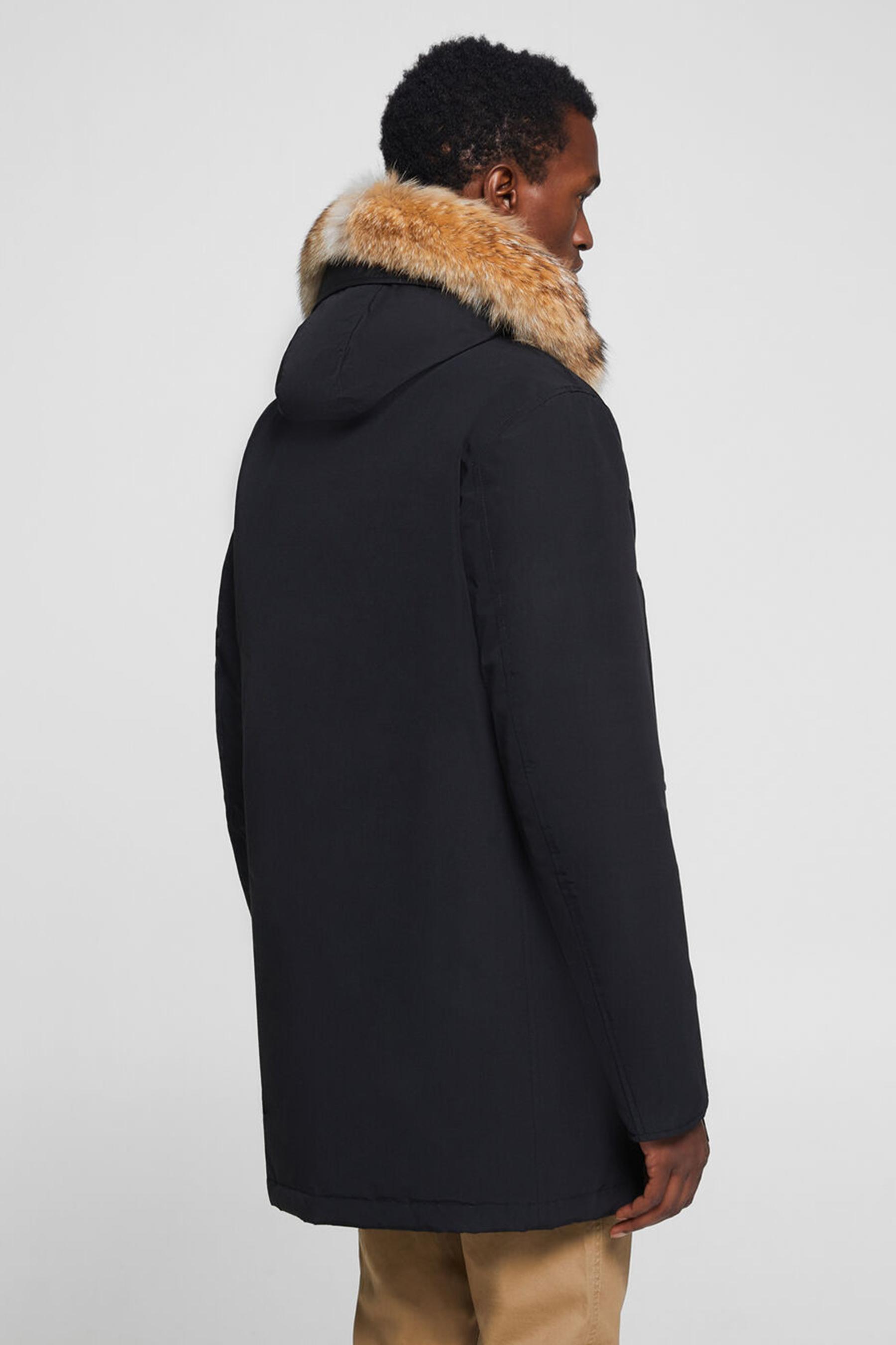 Men's Detachable Fur Arctic Parka WOOLRICH | Parka | WOCPS2880UT0108NBL
