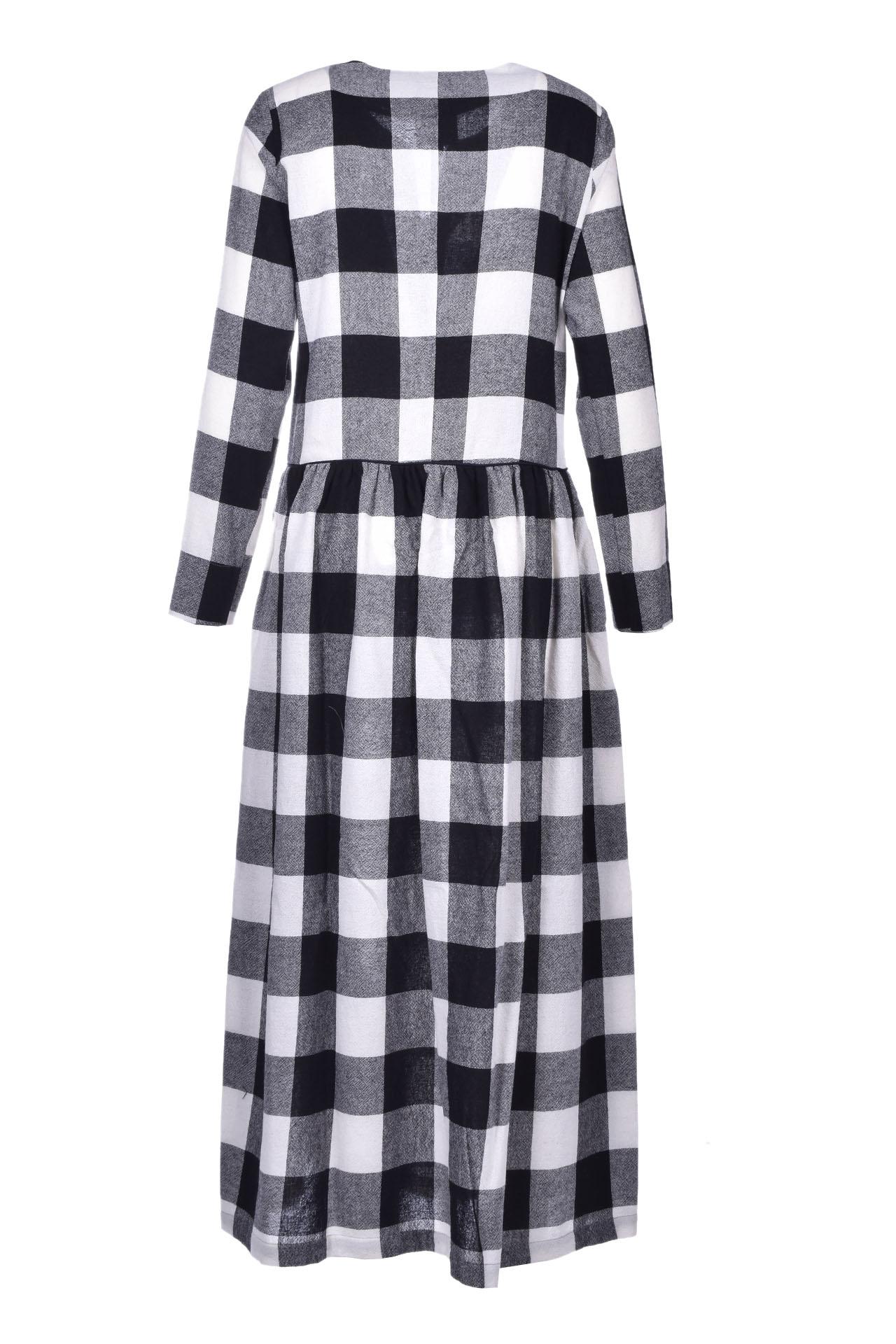 Flannel midi dress ALESSIA SANTI | Dresses | 15048029050