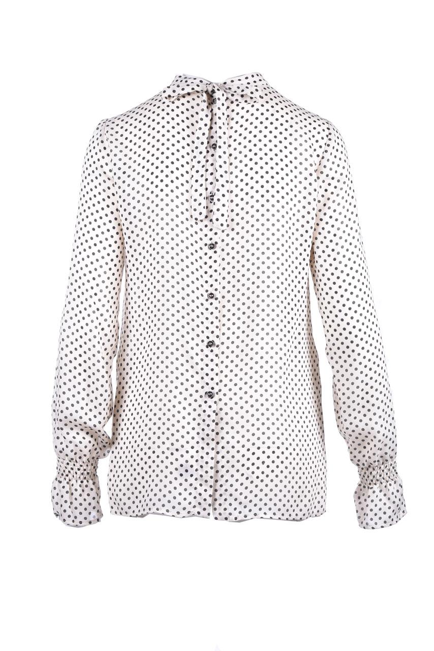 Polka dot shirt with balloon sleeves ALESSIA SANTI | Blouse | 45048029104-01