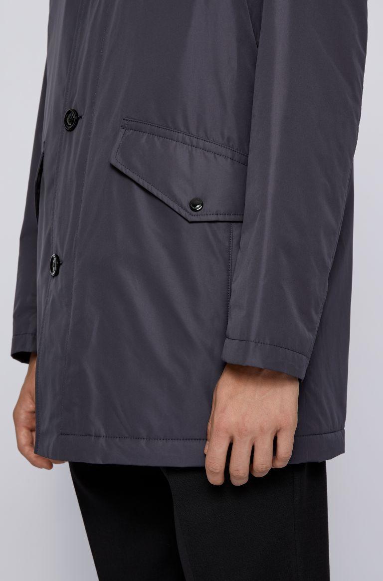 Caylen Cappotto corto con colletto a imbuto BOSS | Cappotti | 50436690402