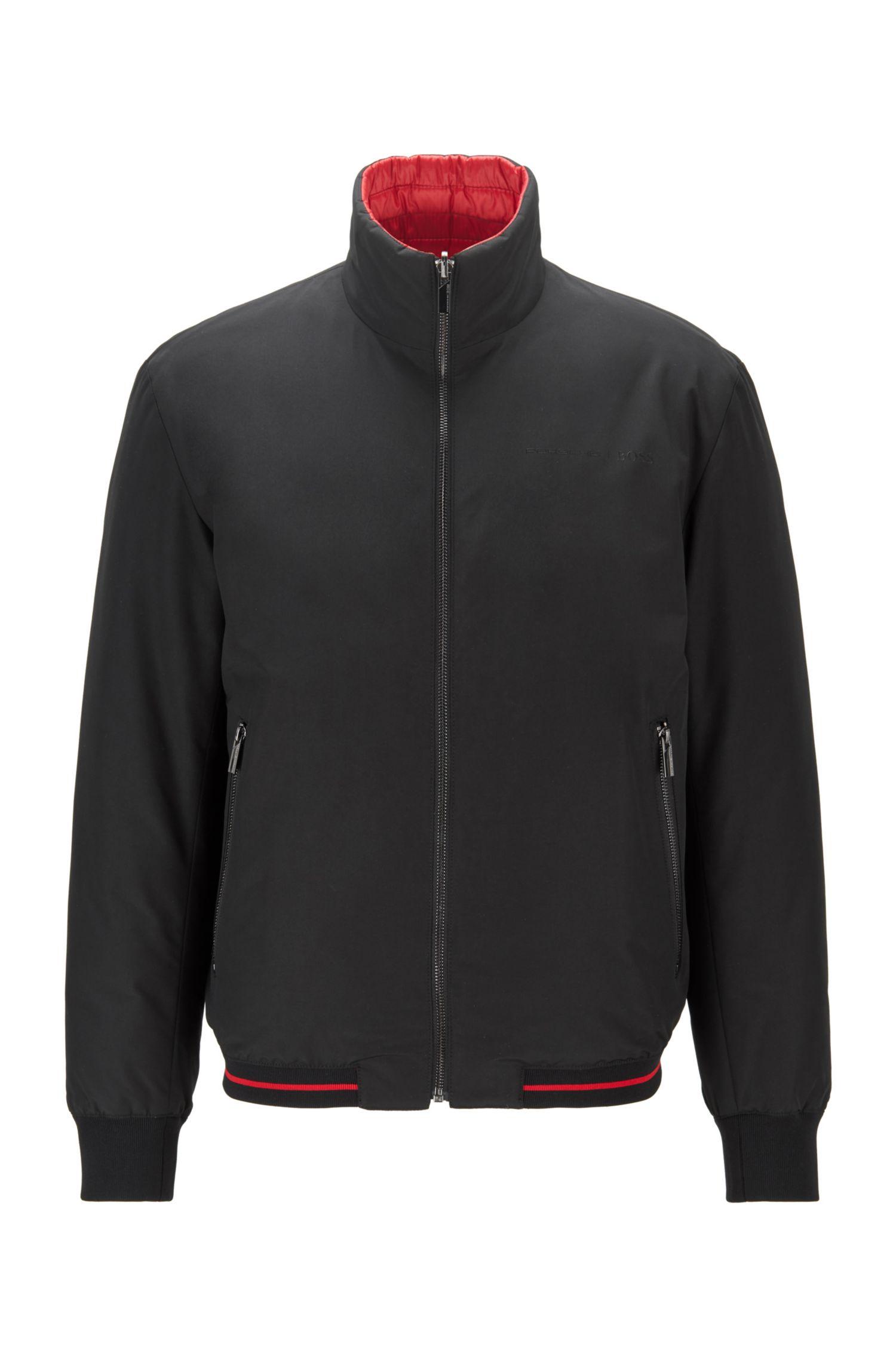 Reversible jacket with black zip pockets BOSS | Jackets | 50436703001