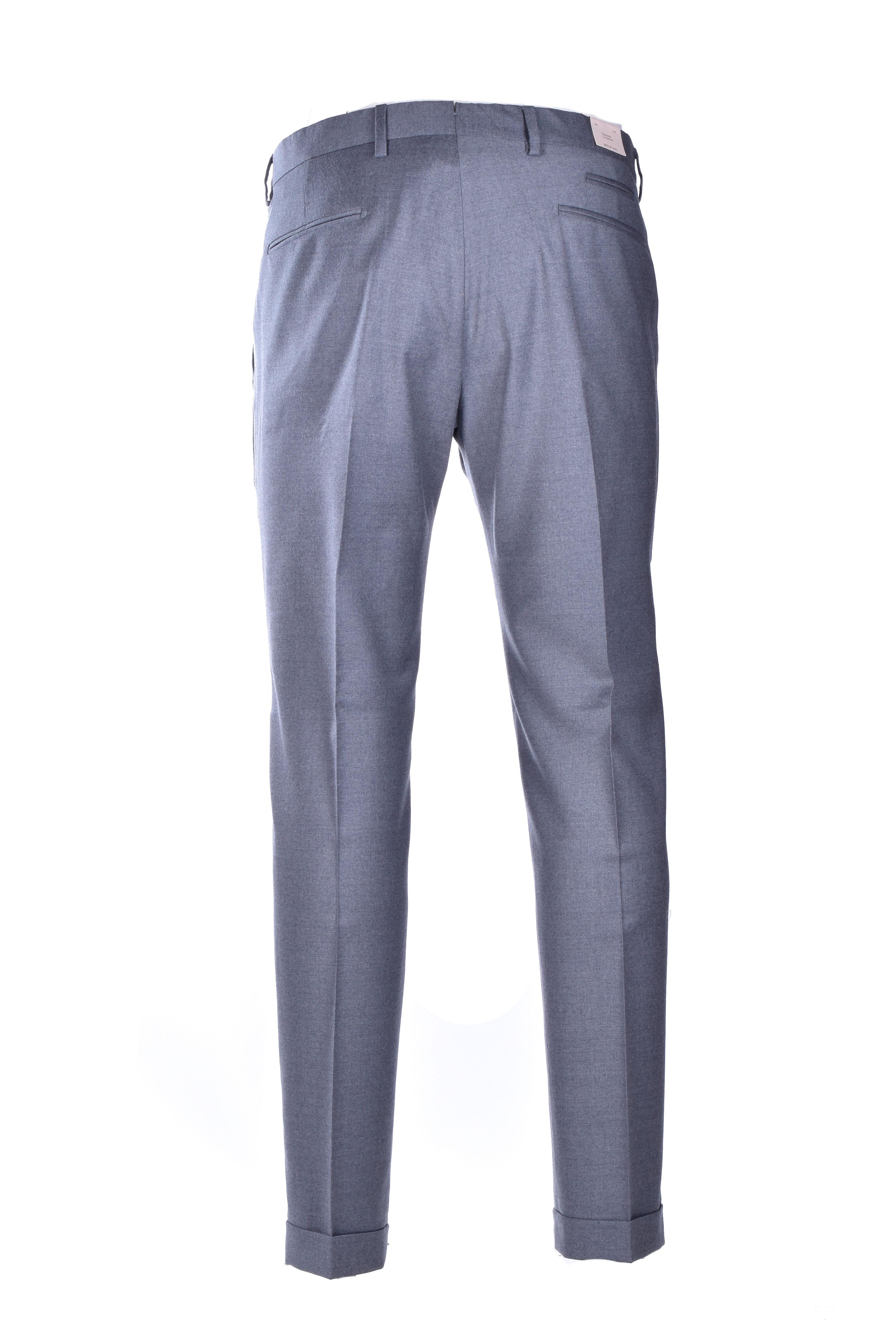 Pantalone classico in flanella - grigio chiaro BRIGLIA   Pantaloni   BG07S 42012050