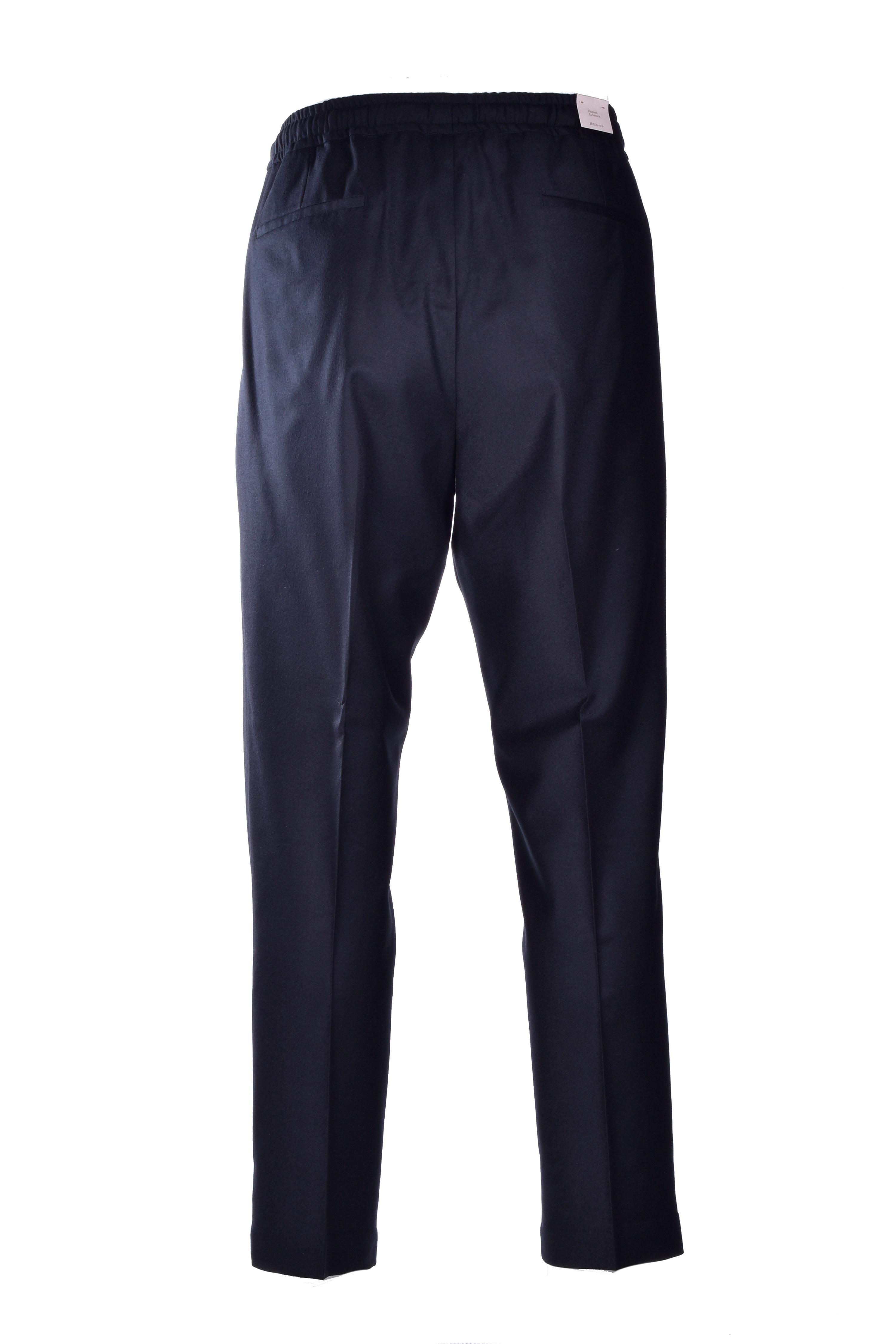 Pantalaccio in flanella nero BRIGLIA | Pantaloni | WIMBLEDONS 42012010
