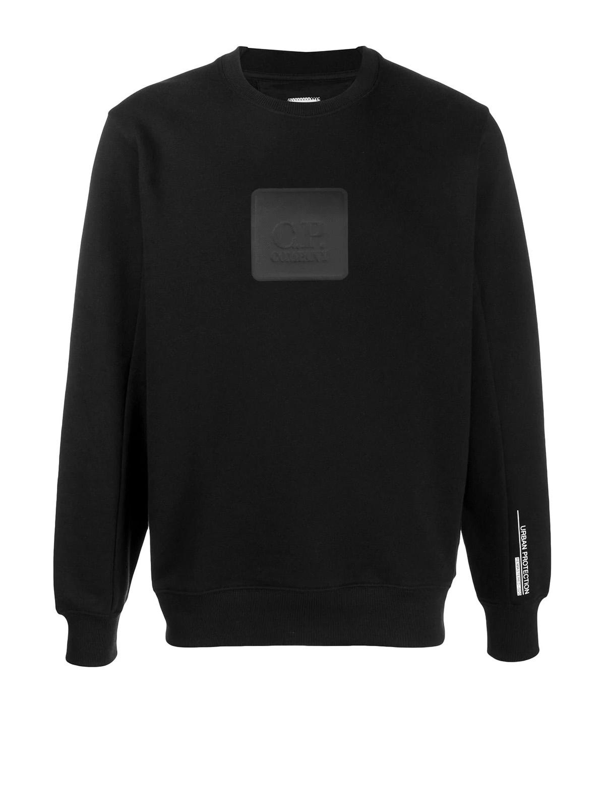 Diagonal Raised Fleece Urban Protection Series Logo Sweat C.P. COMPANY | Sweatshirt | 09CMSS171A005086W999