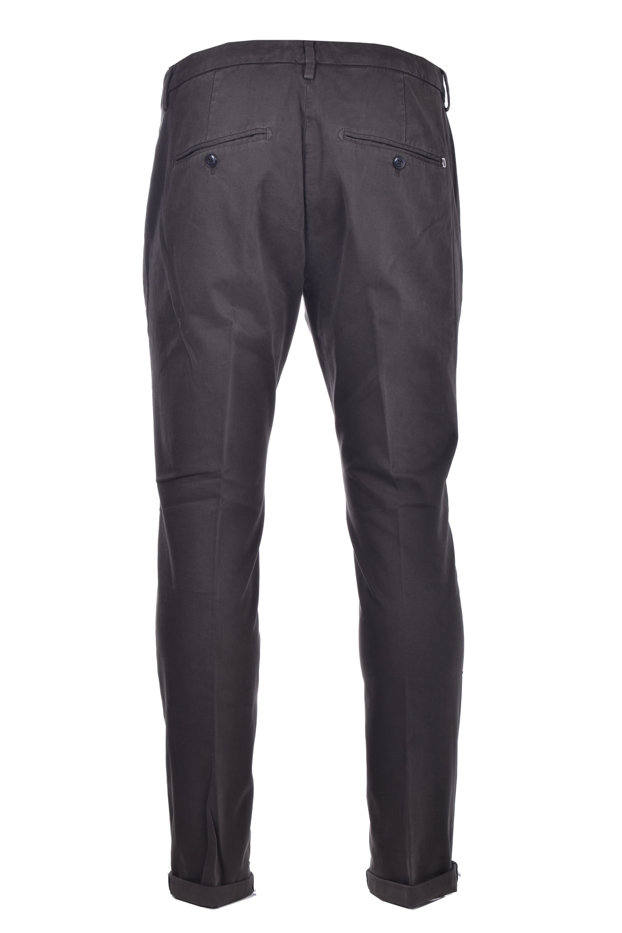 Pantalone chino slim in gabardin DONDUP   Pantaloni   UP235GSE043PTDDU697U