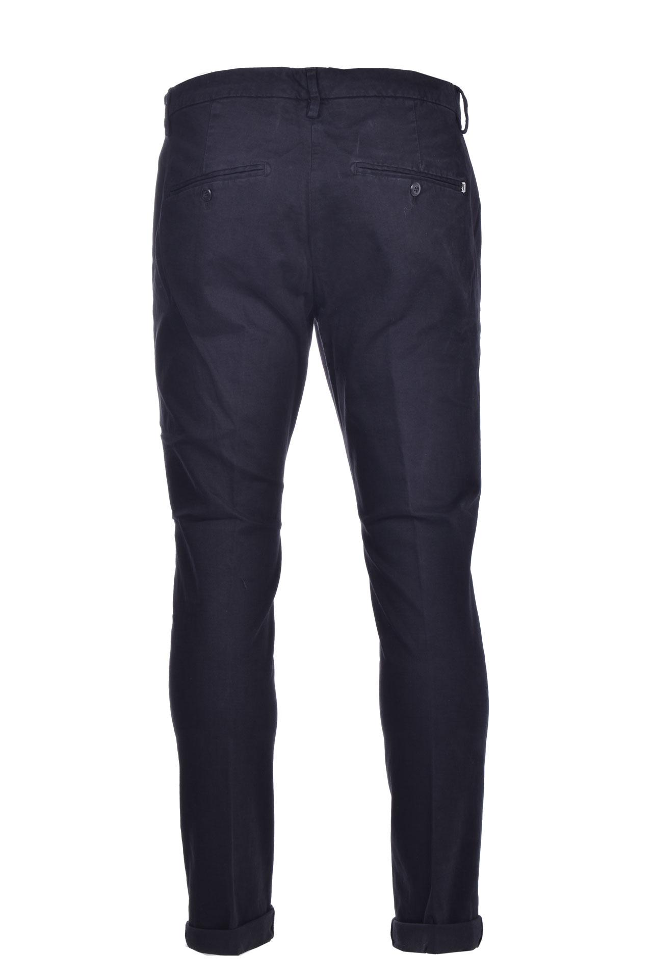 Pantalone chino slim in gabardin DONDUP | Pantaloni | UP235GSE043PTDDU999U