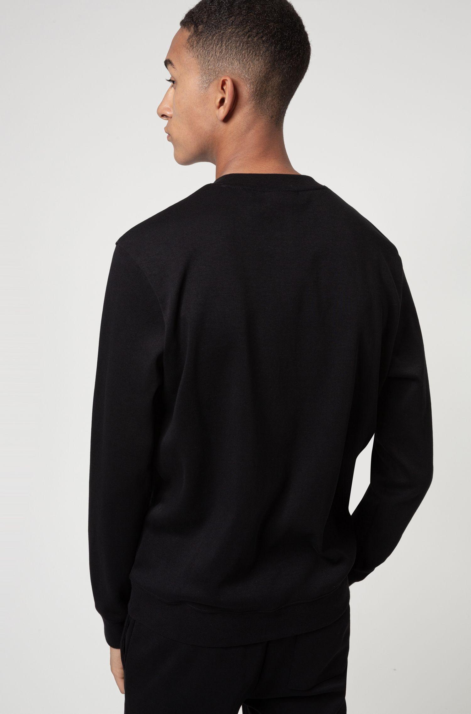 Sweatshirt in woven cotton with logo HUGO | Sweatshirt | 50436126001