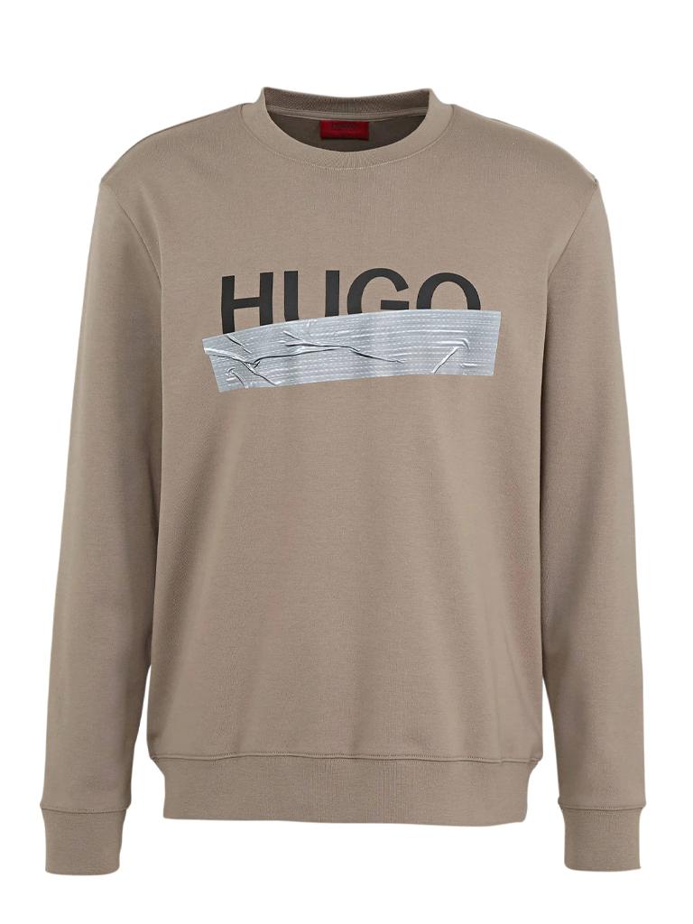 Sweatshirt in woven cotton with logo HUGO | Sweatshirt | 50436126238