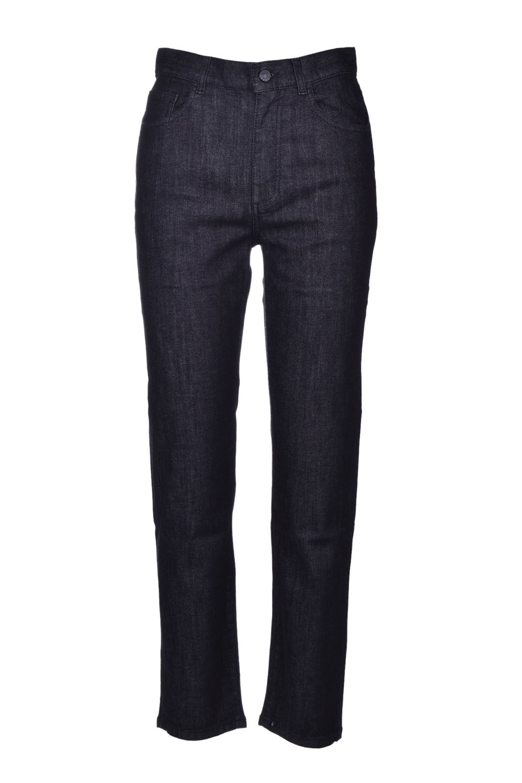 black baggy denim JUCCA   Trousers   J3214033/N003
