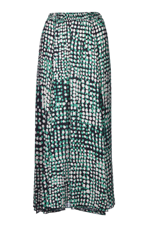 Long skirt in polka dot crepe JUCCA | Skirts | J32150221674