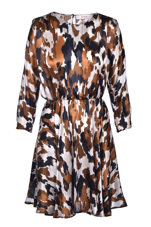 Short silk satin dress JUCCA | Dresses | J32170521675