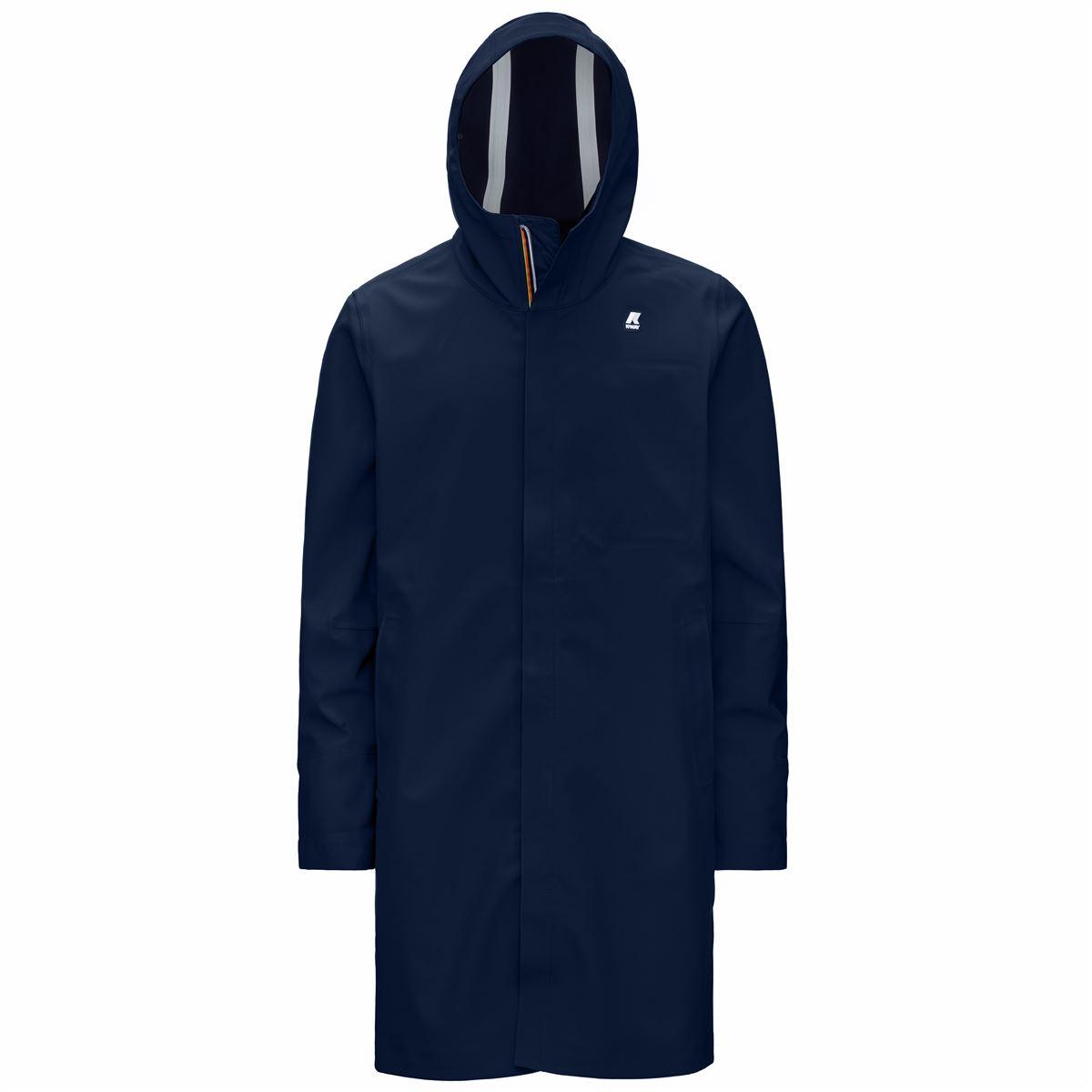 Thomas bonded blue depht K-WAY | Jackets | K008JZ0A2D