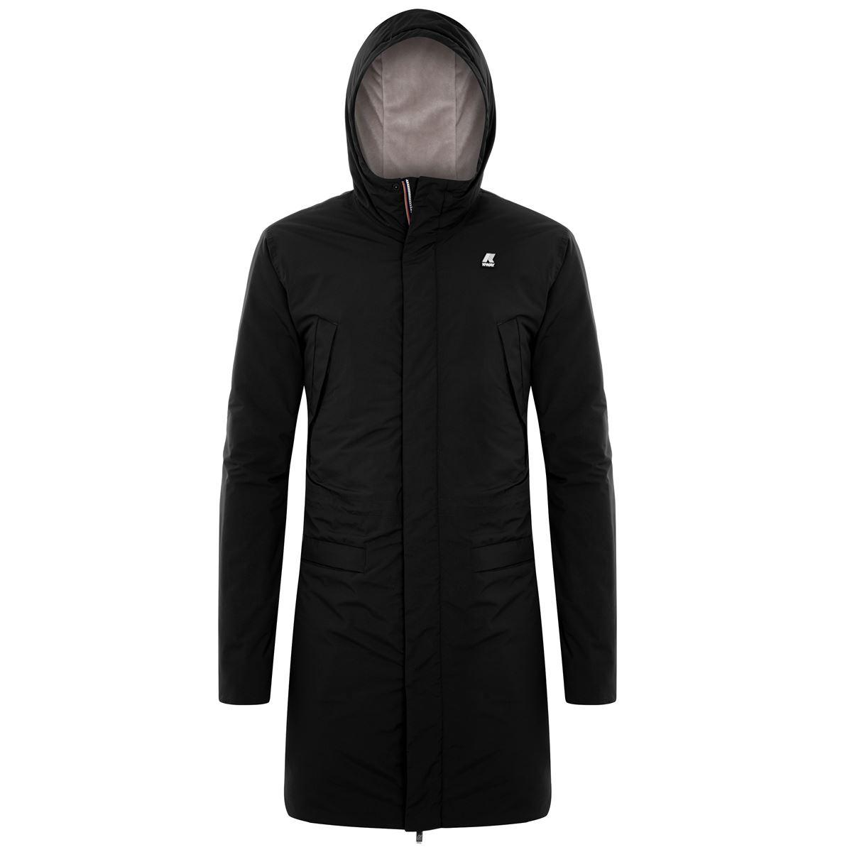 Remi ripstop marmotta black K-WAY   Jackets   K1119PWA22