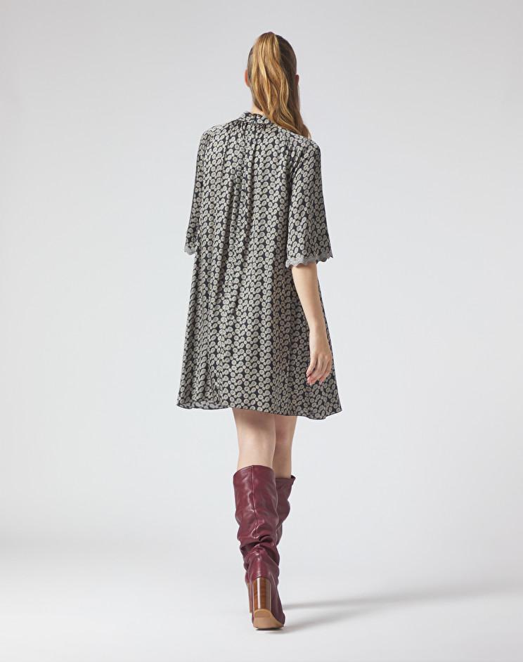 Short dress with collar MANILA GRACE |  | A034VPMD896