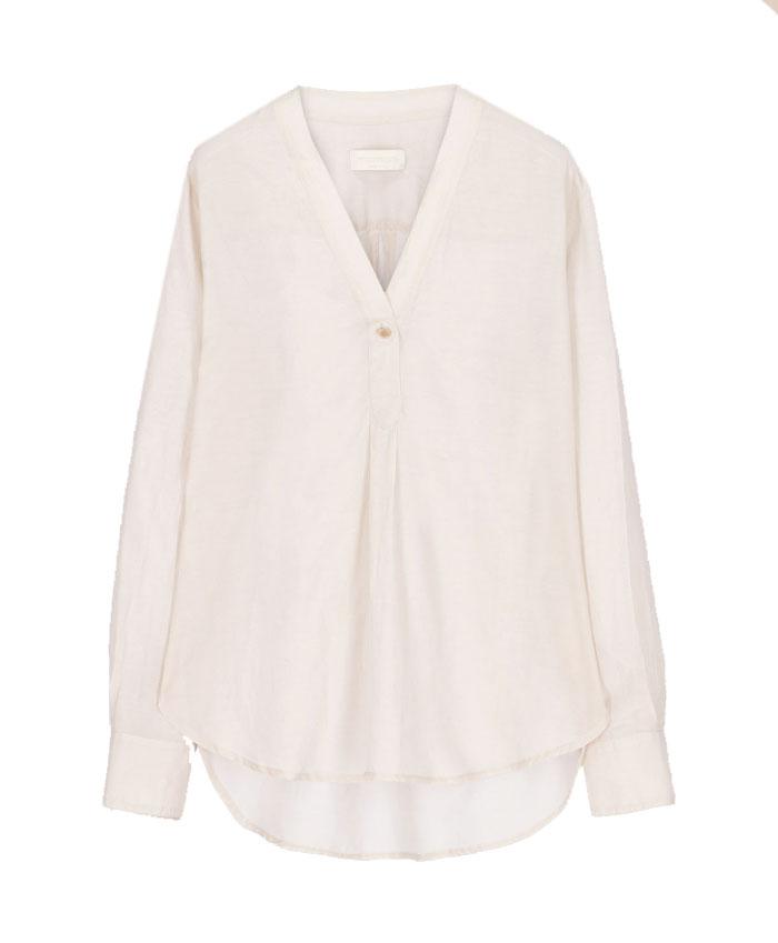 Blusa in voile di seta e cotone MOMONI | Bluse | MOBL0050050